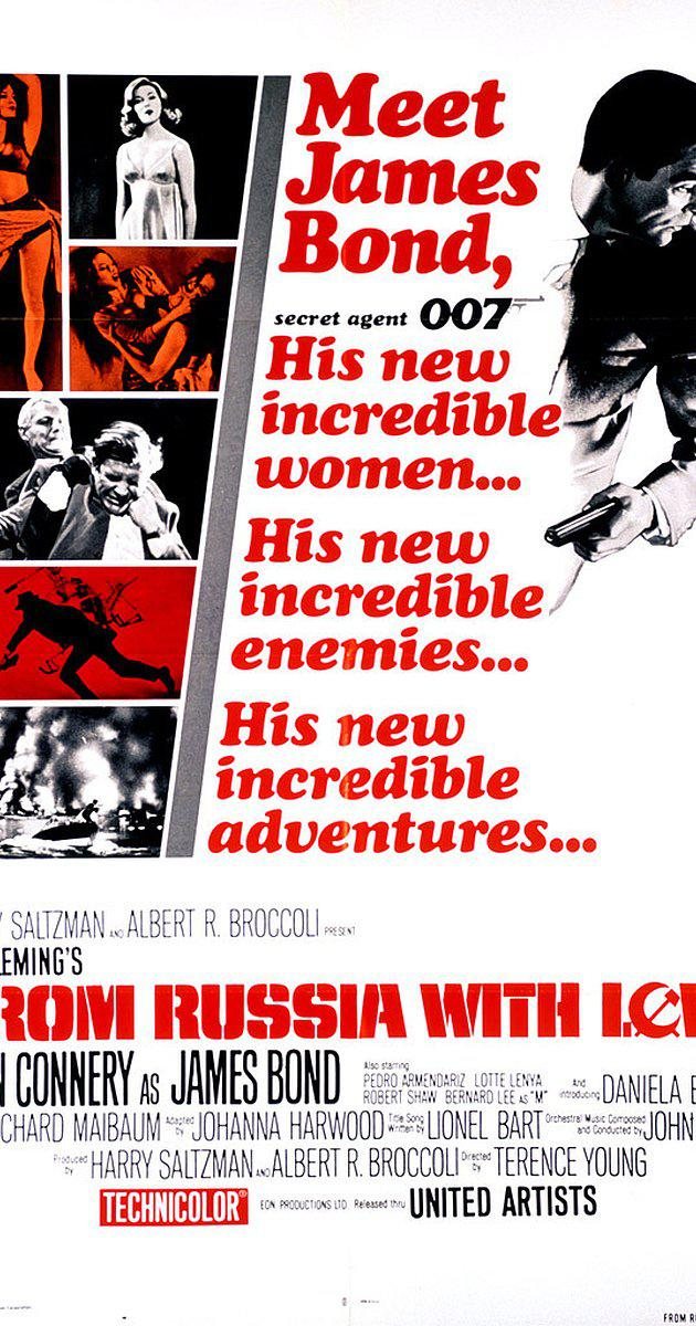 From Russia with Love (1963) เพชฌฆาต 007